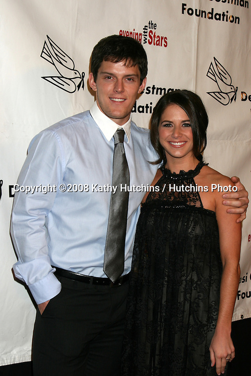 Drew Cheetwood and Jenna Vitale arriving at the Desi Geestman Foundataion Annual Evening with the Stars at the Universal Sheraton Hotel in Los Angeles, CA.October 11, 2008.©2008 Kathy Hutchins / Hutchins Photo...                .