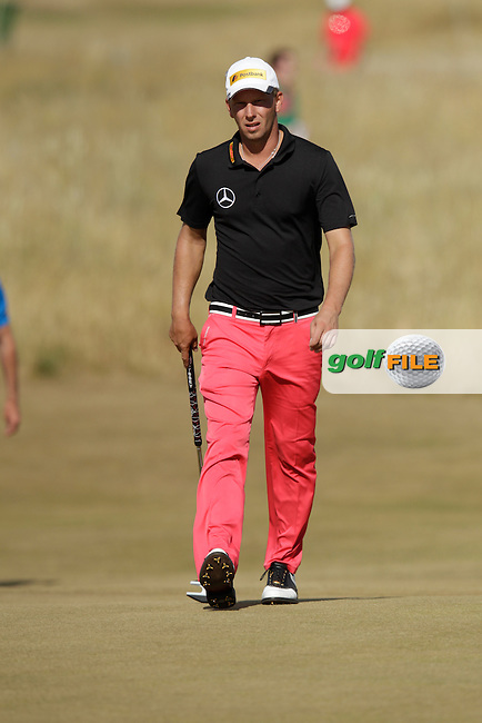 Marcel SIEM (GER) during round one of  The 142th Open Championship Muirfield, Gullane, East Lothian, Scotland 18/7/2013<br /> Picture Eoin Clarke www.golffile.ie: