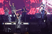 Lady Antebellum performs on the main stage of the Festival d'ete de Quebec (FEQ) in Quebec city Monday July 10, 2017.