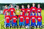 The Ballyhar team that played Killarney Celtic in the u15 FAI National cup in Ballyhar on Saturday