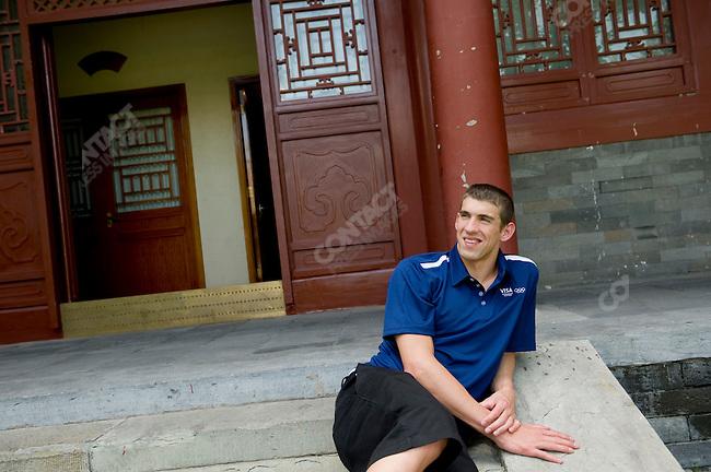 Michael Phelps, Summer Olympics, Beijing, China, August 18, 2008