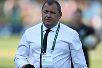 PRETORIA, SOUTH AFRICA - OCTOBER 06: Ian Foster, Assistant Coach of the New Zealand All Blacks during the Rugby Championship match between South Africa Springboks and New Zealand All Blacks at Loftus Versfeld Stadium. on October 6, 2018 in Pretoria, South Africa. Photo: Steve Haag / stevehaagsports.com
