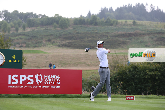 Nicolas Colsaerts (BEL) playing good golf despite a par round during Round Three of the ISPS Handa Wales Open 2014 from the Celtic Manor Resort, Newport, South Wales. Picture:  David Lloyd / www.golffile.ie