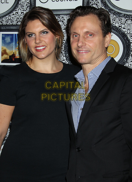 8 February 2014 - Universal City, California - Anna Musky-Goldwyn, Tony Goldwyn. Family Equality Council's Los Angeles Awards Dinner held at Universal Studios Globe Theater. <br /> CAP/ADM/RE<br /> &copy;Russ Elliot/AdMedia/Capital Pictures