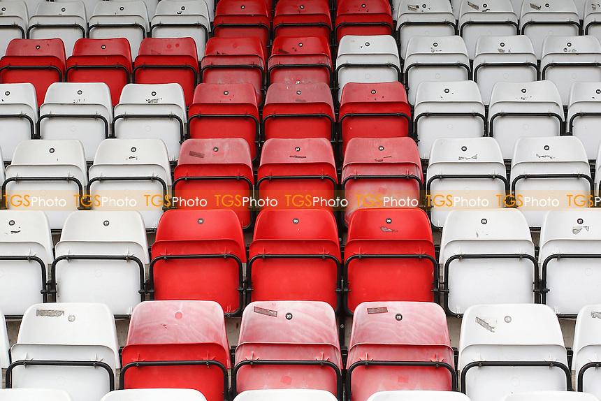 General view of the seats ahead of Stevenage vs Hartlepool United, Sky Bet EFL League 2 Football at the Lamex Stadium on 3rd September 2016