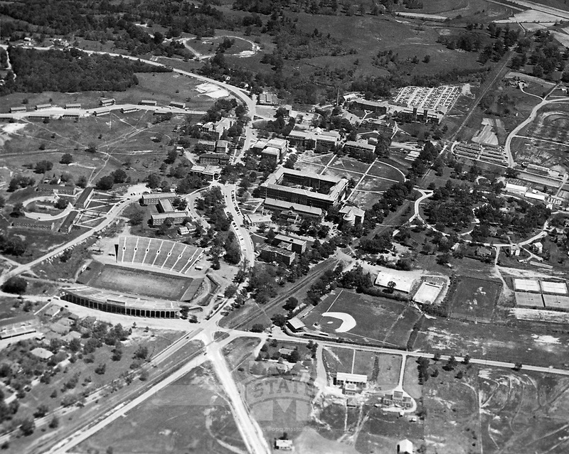 Drill Field Aerial ~1948 <br />