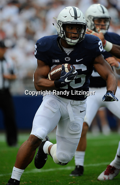 17 September 2016:  The Penn State Nittany Lions defeated the Temple Owls 34-27 at Beaver Stadium in State College, PA. (Photo by Randy Litzinger/Icon Sportswire)