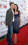 "Alex Young and Actress Kate Walsh arrive at the Much Love Animal Rescue Presents The Second Annual ""Bow Wow WOW!"" at The Playboy Mansion on July 19, 2008 in Beverly Hills, California."