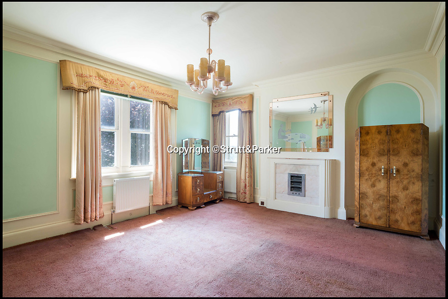 BNPS.co.uk (01202 558833)Pic: Strutt&Parker/BNPS<br /> <br /> Step back in time...<br /> <br /> A stunning Art Deco seaside villa that is a time capsule to the roaring 1920s is on the market for £1.5m.<br /> <br /> South Foreland House has remained untouched for almost a century and still has lots of beautiful ornate detailing which would cost millions if someone wanted to recreate the style today.<br /> <br /> The grand home in St Margaret's Bay, Kent, has been described by agents Strutt & Parker as an Art Deco masterpiece.<br /> <br /> It was one of the first properties built in the bay and in the early 1920s, when the area became fashionable with the London artistic set, it was re-modelled in the Art Deco style.