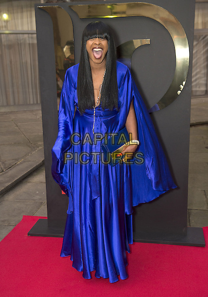 Sandi Bogle attends the India, Pakistan and London Fashion Show (IPL Fashion Show) at The Gibson Hall in London, England on the 4th March 2017 <br /> CAP/GM/PP<br /> &copy;Gary Mitchell/PP/Capital Pictures