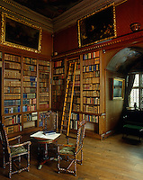 The library at Powis Castle