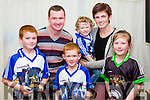 The Buckley family Scartaglen enjoying the Con Houlihan weekend in Castleisland RFC on Saturday night Kalum , Jerimiah, Kyle, Zak , anna Marie and mikaela Buckley