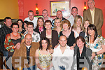 BIRTHDAY WISHES: Siobhan Foley, Abbeydorney (seated second from left) celebrated her 30th birthday in Kirbys Brogue Inn, Tralee, last Saturday night with family and many friends..