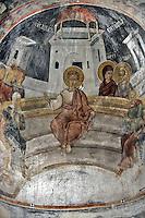 BG61230.JPG BULGARIA, BLACK SEA COAST, NESSEBAR, CHURCH OF ST STEPHAN, 10TH CENTURY, FRESCOS