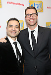 Rick Hip-Flores and Deke Sharon attends the Broadway Opening Night Performance Press Reception for  'In Transit' at Circle in the Square Theatre on December 11, 2016 in New York City.