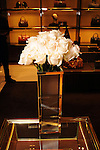 Flowers at the Alley Theater event at the Guuci Store in The Galleria Thursday Oct. 10,2013.(Dave Rossman photo)