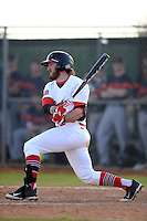 Illinois State Redbirds Mason Snyder (7) during a game against the Bucknell Bison on March 8, 2015 at North Charlotte Regional Park in Port Charlotte, Florida.  Bucknell defeated Illinois State 13-8.  (Mike Janes Photography)
