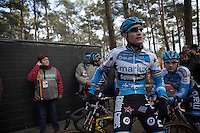 defending National Champion Klaas Vantornout (BEL/Marlux-Napoleon Games) before the start<br /> <br /> 2016 Belgian National CX Championships