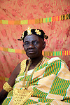 The Chief of Atebubu, one of the most reomote district in the Brong Ahafo region. His role plays a significant role in the region to manage conflicts between different ethnies coming from the north of Ghana