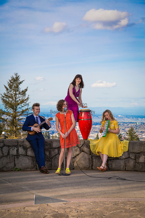 The von Trapp children in Portland, Oregon
