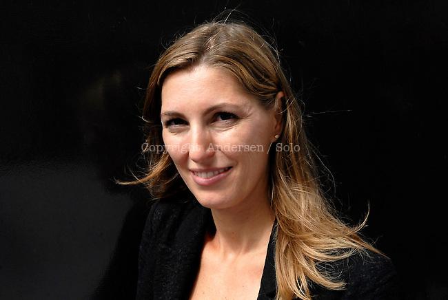 Nathalie Skowronek, Belgian writer.