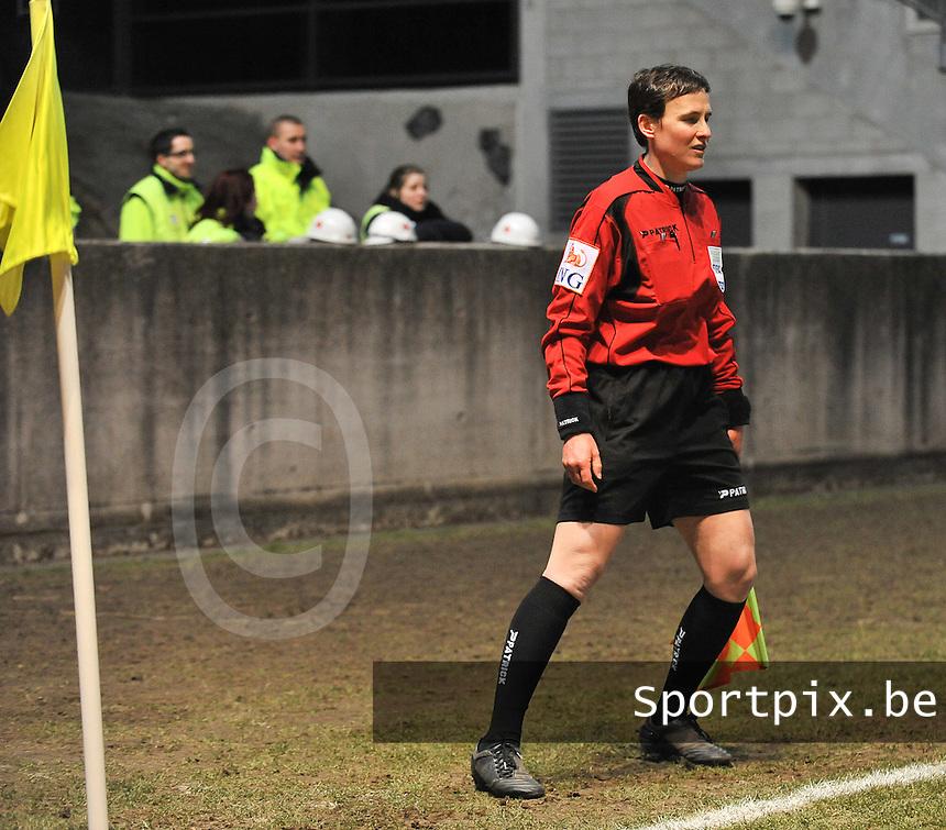 Waasland Beveren Sinaai Girls - RSC Anderlecht : Ella De Vries.foto DAVID CATRY / Nikonpro.be