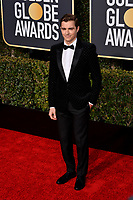 LOS ANGELES, CA. January 06, 2019: Dave Franco at the 2019 Golden Globe Awards at the Beverly Hilton Hotel.<br /> Picture: Paul Smith/Featureflash