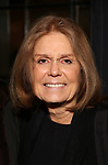 "Gloria Steinem attends the Broadway Production of  ""Sweat"" at studio 54 Theatre on March 26, 2017 in New York City"