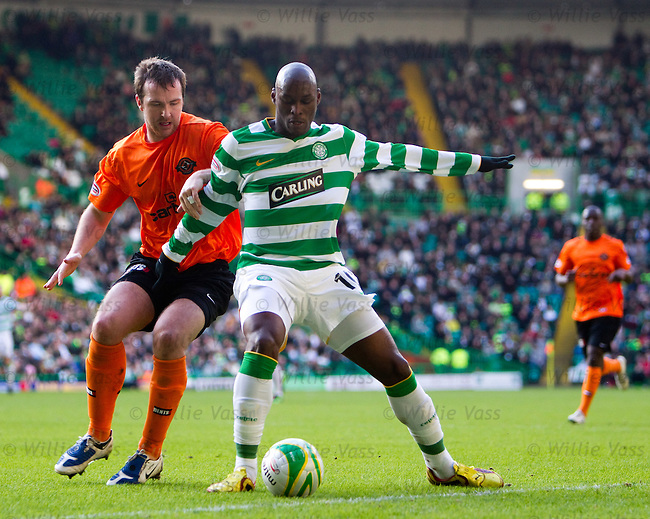 Andy Webster and Marc Antoine Fortune