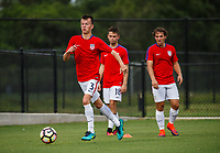Lakewood Ranch, FL - Sunday July 23, 2017: Samuel Holmes during an international friendly match between the paralympic national teams of the United States (USA) and Canada (CAN) at Premier Sports Campus at Lakewood Ranch.