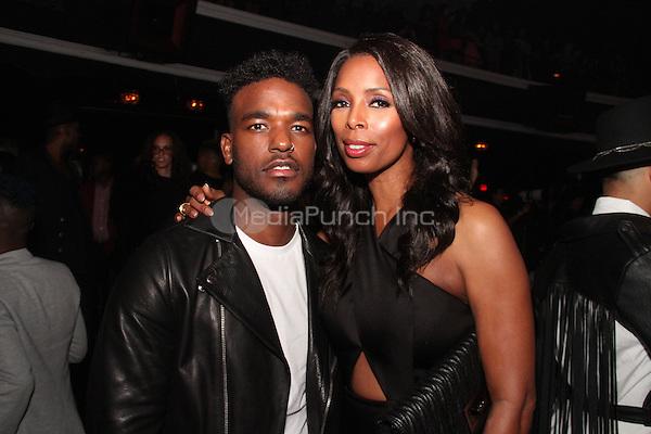 HOLLYWOOD, CA - FEBRUARY 5, 2015<br /> <br /> Luke James &amp; Tasha Smith attend the &quot;Essence Black Women In Music&quot; event at Avalon Hollywood, February 5, 2015 in Hollywood, California.<br /> <br /> <br /> Walik Goshorn / MediaPunch