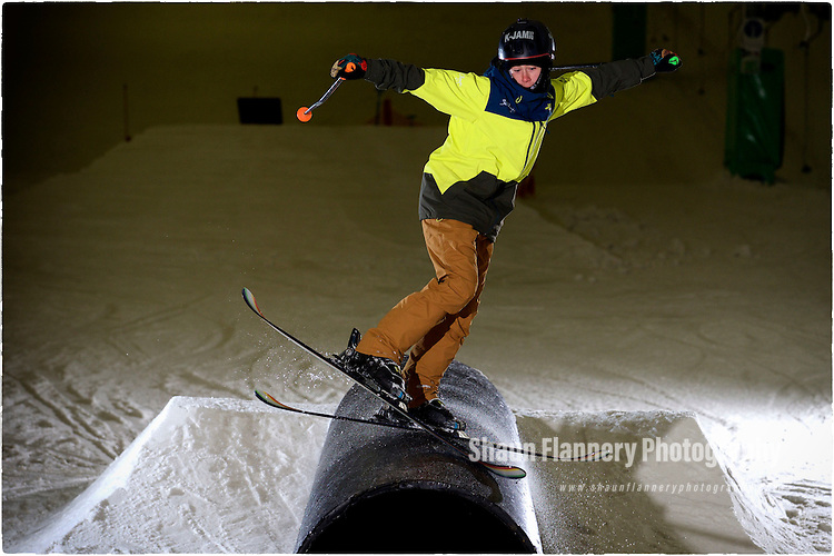 Pix: Shaun Flannery/shaunflanneryphotography.com<br /> <br /> COPYRIGHT PICTURE>>SHAUN FLANNERY>01302-570814>>07778315553>><br /> <br /> 8th June 2016<br /> Snozone Castleford<br /> Freestyle/slopestyle