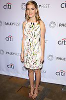 "HOLLYWOOD, LOS ANGELES, CA, USA - MARCH 21: Kiernan Shipka at the 2014 PaleyFest - ""Mad Men"" held at Dolby Theatre on March 21, 2014 in Hollywood, Los Angeles, California, United States. (Photo by Celebrity Monitor)"