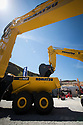 28/06/18<br /> <br /> Komatsu stand at Hillhead 2018 near Buxton, Derbyshire.<br /> <br /> All Rights Reserved: F Stop Press Ltd. +44(0)1335 344240  www.fstoppress.com www.rkpphotography.co.uk