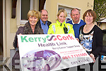 SUPPORT THE WALK: Siuloid na Bealtaine, Mt. Brandon Walk for the Kerry Cancer Support Group takes place on May 12th AT 10AM. Pictured from l-r were: Mairin Mhic Gearailt, Sean Prendergast, Garda Deirdre Quinn, Corney Begley and Mary Lynch.