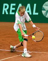 13-08-11, Tennis, Hillegom, Nationale Jeugd Kampioenschappen, NJK, Ronetto van Tilburg