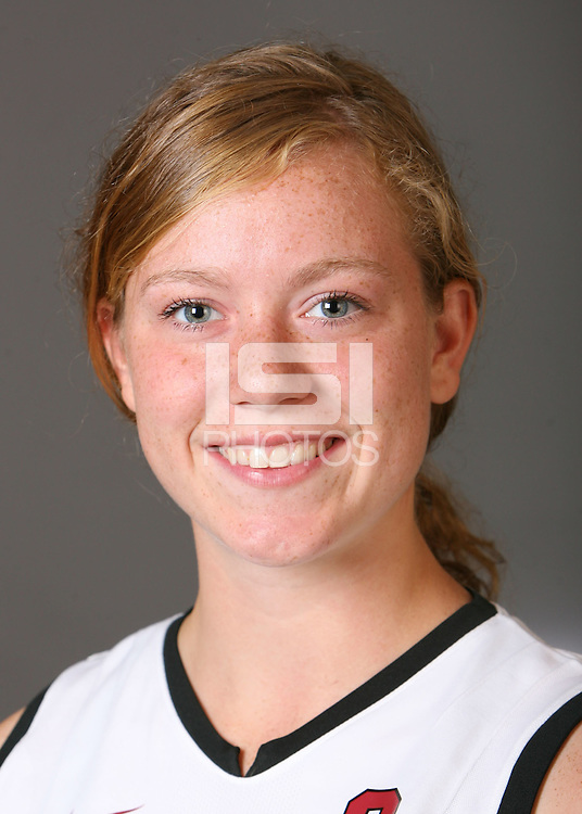 STANFORD, CA - AUGUST 14:  Leigh Kaulbach of the Stanford Cardinal women's field hockey team poses for a headshot on August 14, 2008 in Stanford, California.