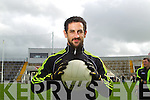 Paul Galvin at the Kerry Senior Football Team Media day at Fitzgerald Stadium on Saturday.