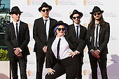 London, UK. 8 May 2016. American singer Elle King with band. Red carpet  celebrity arrivals for the House Of Fraser British Academy Television Awards at the Royal Festival Hall.