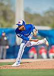 6 March 2019: Toronto Blue Jays pitcher Elvis Luciano on the mound during a Spring Training game against the Philadelphia Phillies at Dunedin Stadium in Dunedin, Florida. The Blue Jays defeated the Phillies 9-7 in Grapefruit League play. Mandatory Credit: Ed Wolfstein Photo *** RAW (NEF) Image File Available ***