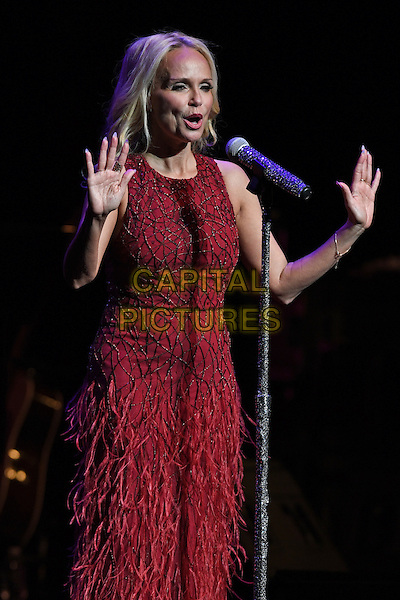 FORT LAUDERDALE FL - FEBRUARY 14: Kristin Chenoweth performs a Valentine's Day concert at The Broward Center on February 14, 2017 in Fort Lauderdale, Florida. <br /> CAP/MPI04<br /> &copy;MPI04/Capital Pictures