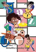 Fabrizio, Comics, CUTE ANIMALS, LUSTIGE TIERE, ANIMALITOS DIVERTIDOS, paintings+++++,ITFZ63,#AC#, EVERYDAY ,Jazz,
