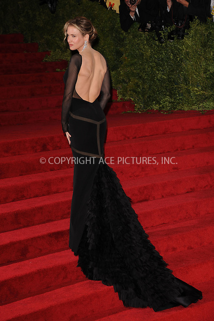 "WWW.ACEPIXS.COM . . . . . .May 7, 2012...New York City.....Renée Zellweger attending the ""Schiaparelli and Prada: Impossible Conversations"" Costume Institute Gala at The Metropolitan Museum of Art in New York City on May 7, 2012  in New York City ....Please byline: KRISTIN CALLAHAN - ACEPIXS.COM.. . . . . . ..Ace Pictures, Inc: ..tel: (212) 243 8787 or (646) 769 0430..e-mail: info@acepixs.com..web: http://www.acepixs.com ."