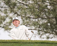 25 JAN 13 Brandt Snedeker in the steady rain during Friday's Second Round action  at The Farmers Insurance Open at Torrey Pines Golf Course in La Jolla, California. (photo:  kenneth e.dennis / kendennisphoto.com)