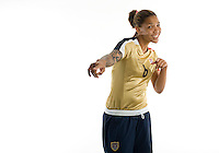 Natasha Kai. U.S. Women's National Team portrait photoshoot. June 8, 2007 in Carson, CA.