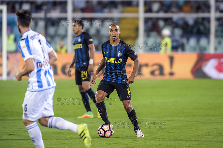 Joao Mario (Inter) during the Italian Serie A football match Pescara vs SSC Inter on September 11, 2016, in Pescara, Italy. Photo by Adamo DI LORETO