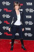 ANAHEIM, CA - JUNE 22: Lisa Rinna attends The World Premiere of Disney/Jerry Bruckheimer Films' 'The Lone Ranger' at Disney California Adventure Park on June 22, 2013 in Anaheim, California. (Photo by Celebrity Monitor)