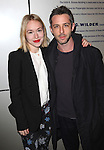 Sarah Goldberg and Jeremy Strong attending the Opening Night Performance of 'The Whale' at Playwrights Horizons' Peter Jay Sharpe Theater in New York City on 11/05/2012