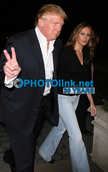Donald Trump & Melania<br /> 2007<br /> Photo By John Barrett/CelebrityArchaeology.com