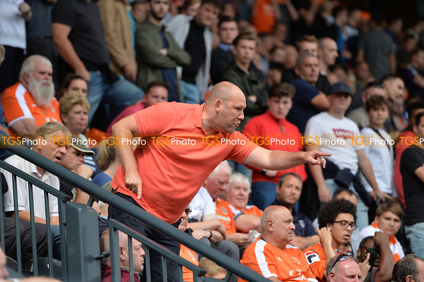 Crowd trouble during Barnet vs Luton Town, Sky Bet EFL League 2 Football at the Hive Stadium on 12th August 2017